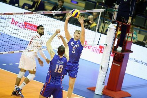 Мужская сборная РФ  поволейболу обыграла Францию ипробилась наОлимпиаду
