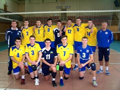 Юношеская сборная Украины готовится к отбору на Евро 2016