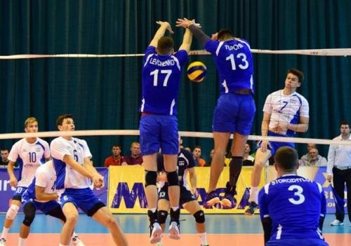 Мужская сборная Украины поволейболу досрочно вышла вФинал четырех Евролиги