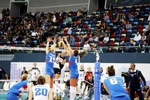 Волейболистки Сербии завоевали титул чемпиона Европы